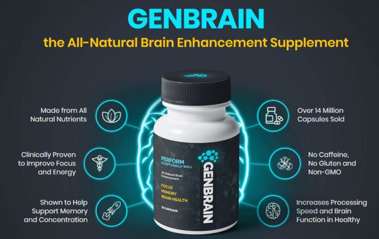 GenBrain - Focus, Memory, Brain Health
